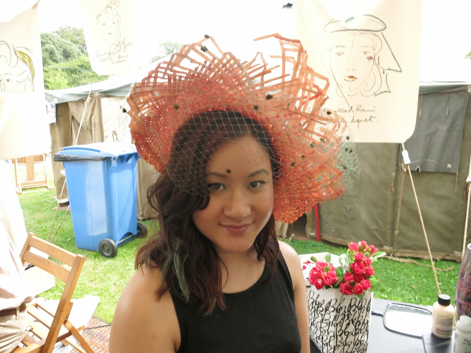 styling by stephen jones at port eliot festival 2014