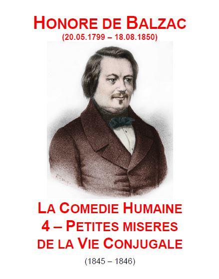 Bienvenue Chez Sab  Honor U00e9 De Balzac   Petites Mis U00e8res De