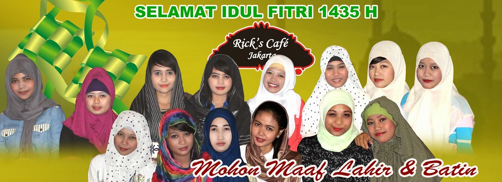 Selamat Idul Fitri 2014