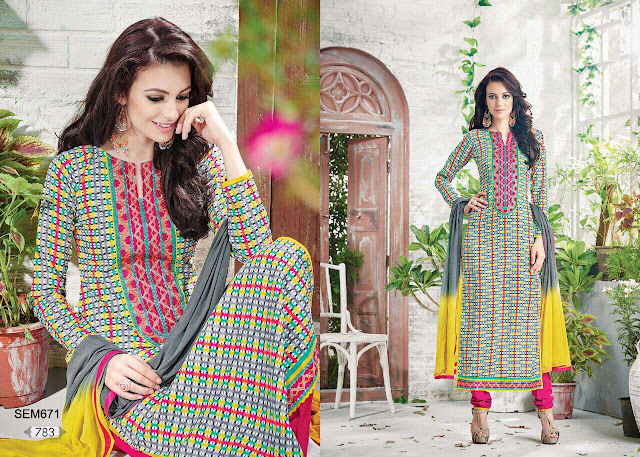 Pure Cotton Long Designer Salwar Kameez – Wholesale