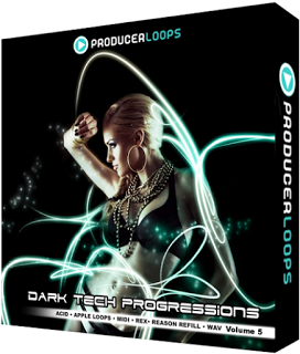Producer Loops Dark Tech Progressions