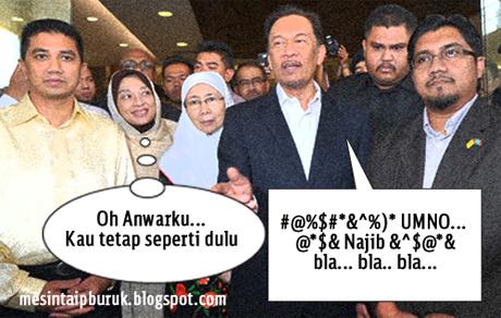Bila Shamsidar dan Anwar bertemu...