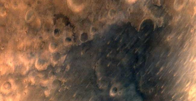 Picture of Mars taken by Mars Orbiter Mission. Credit: ISRO