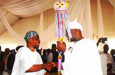 ooni of ife Enitan Adeyeye coronation