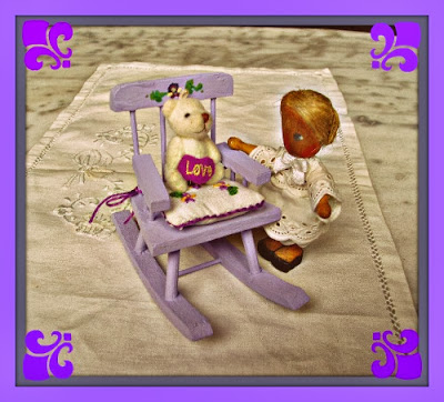 estilo provenzal casa de muñecas