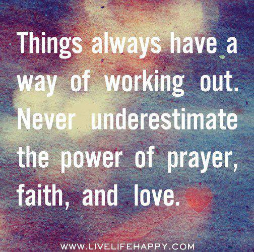 """the power of faith and prayers Well-known prayer author and intercessor, e m bounds, wrote about the power of prayer: """"prayer is power and strength, a power and strength that influences god, and is most salutary, widespread, and marvelous in its gracious benefits to man prayer influences god."""
