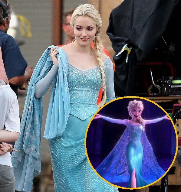 Yap, you heard us right. The monarch inspired have been translated by maximum into Georgina Haig diamond show as she dressed up in wonderful costume for the upcoming season of Once Upon a Time in Vancouver, Canada on Wednesday, July 16, 2014.