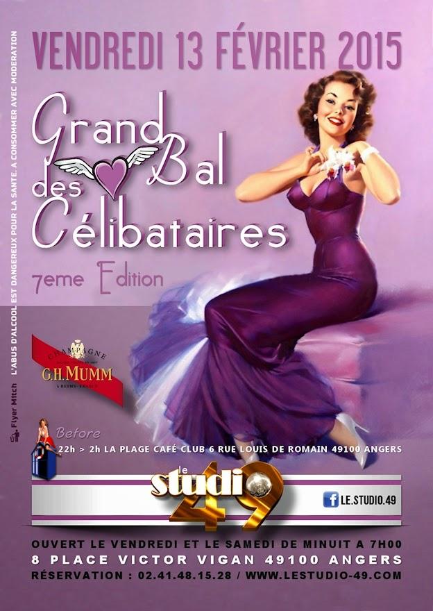 Grand Bal des Célibataires à Angers