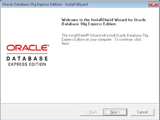 Tutorial Instalisasi Dasar Oracle 10g untuk OS Windows