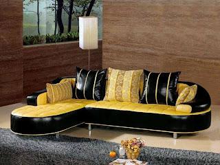 Fancy Home Decor Colorful Sofa Set Design Za Kisasa