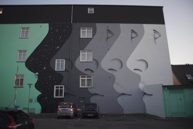 Our friends from CYRCLE are currently in lovely Denmark where they were invited by the good lads from Weaart to create a new piece on the streets of Aalborg.