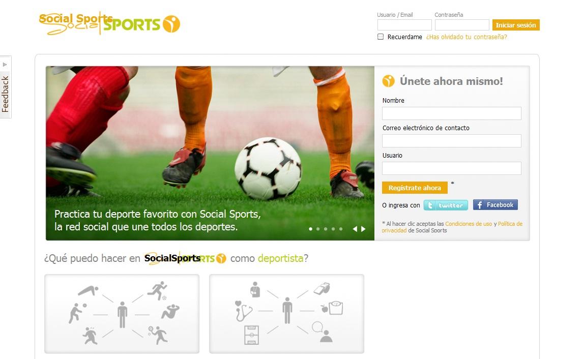 redes sociales para deportistas