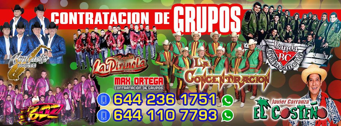 MAXORTEGA ® <br> Contratación de Grupos