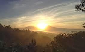 Sunrise At Setumbu Hill