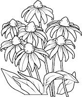 planse colorat flori 8 martie