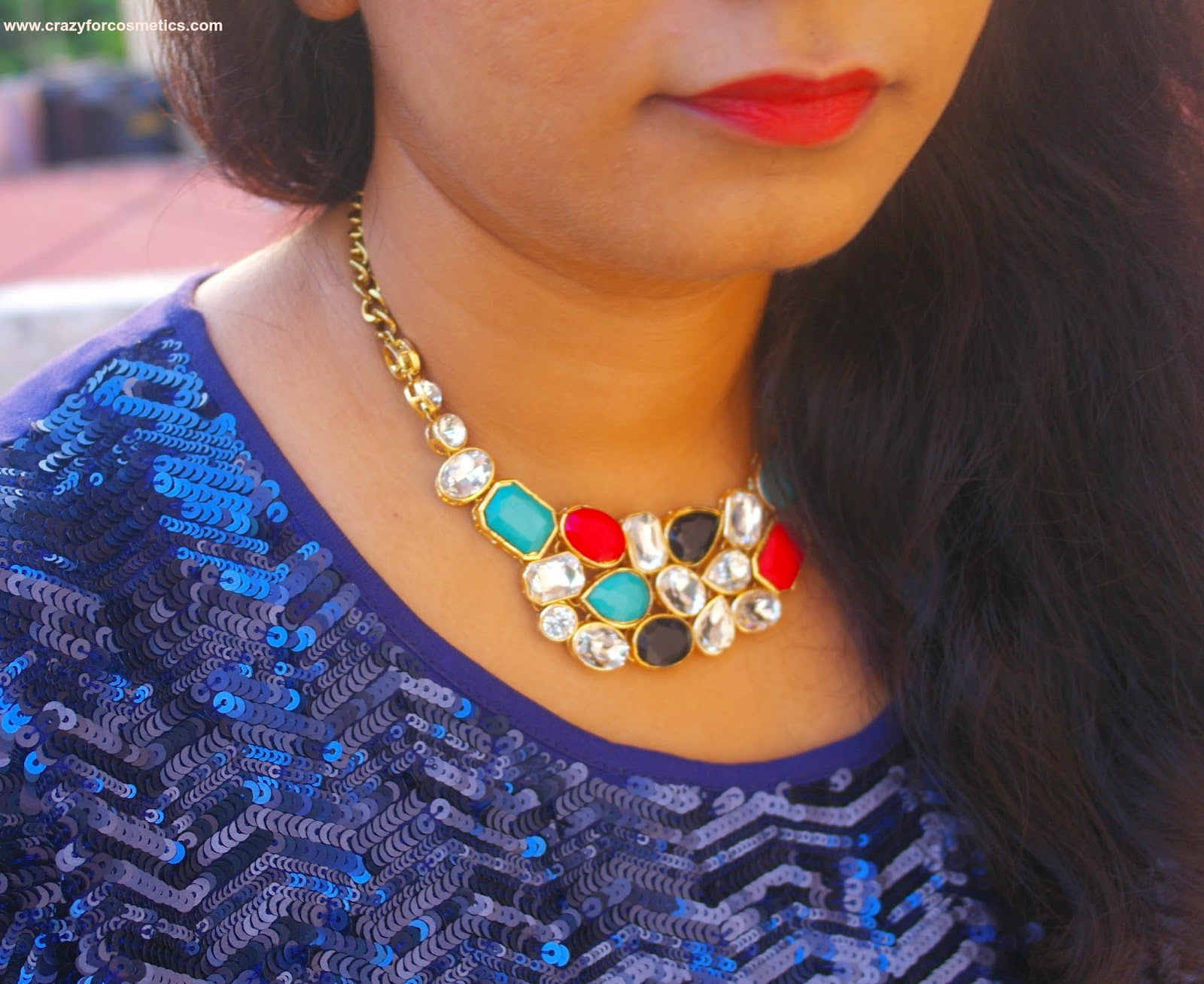 styling funky statement necklaces