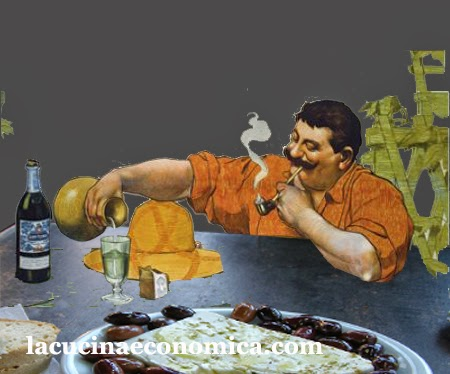 pane, olive, feta e....... naturalmente ouzo