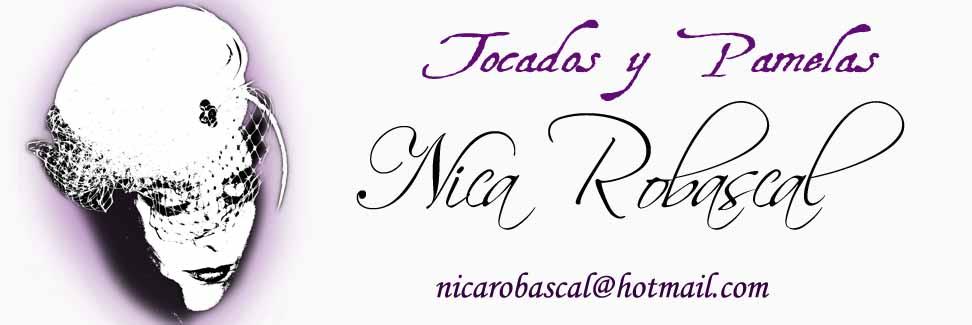 Tocados y pamelas Nica Robascal
