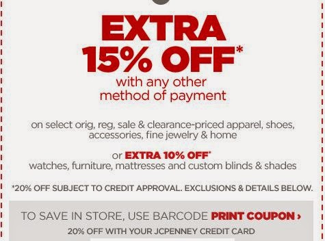jcpenney printable coupons december 2014