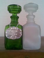 colectii+sticle+parfum+Sticlărie+veche+românească+vintage