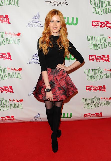 Actress, Singer, @ Katherine McNamara - Hollywood Christmas Parade in Hollywood