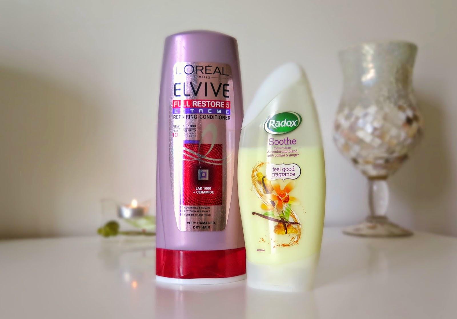 Radox soothe, Elvive full restore