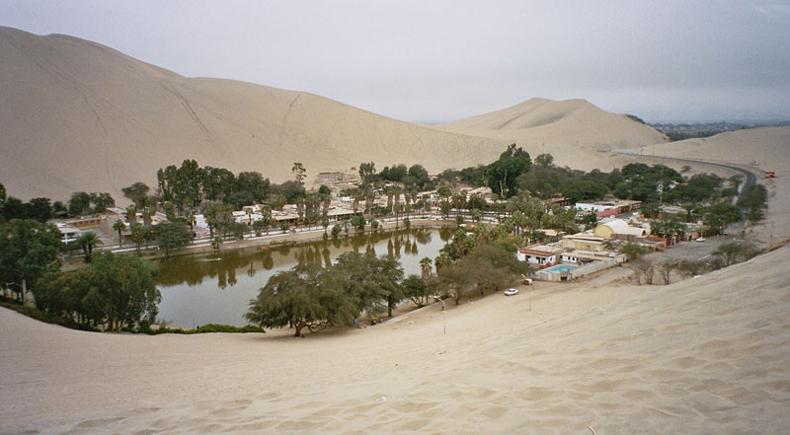 Huacachina: Un oasis en el desierto del Perú