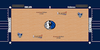 Court with Playoffs Logo