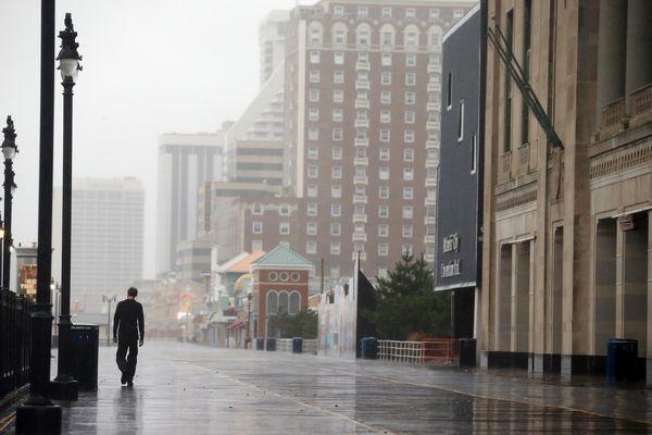 Foto Kesan Taufan (Hurricane) Sandy Ke Atas Amerika Syarikat
