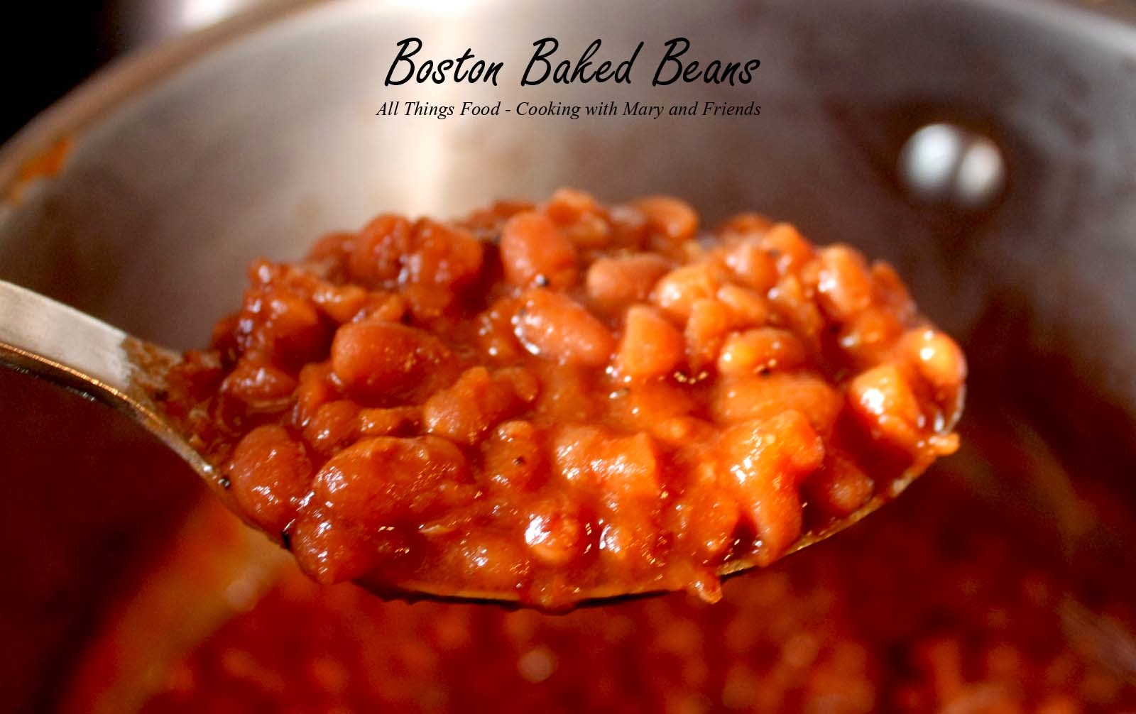 Cooking With Mary and Friends: Boston Baked Beans for pressure canning