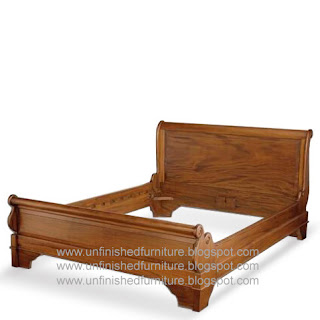 Indonesia furniture, Jepara furniture, unfinished furnture, solid wooden bed, supplier mahogany furniture, raw wooden frame bed, classic reproduction furniture