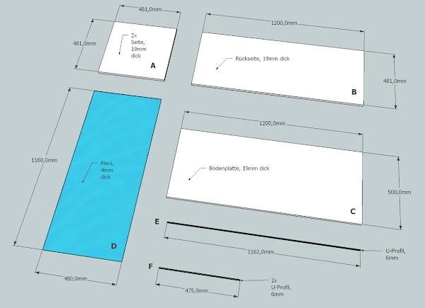 einfacher eigenbau anleitung gehegebau und planung. Black Bedroom Furniture Sets. Home Design Ideas