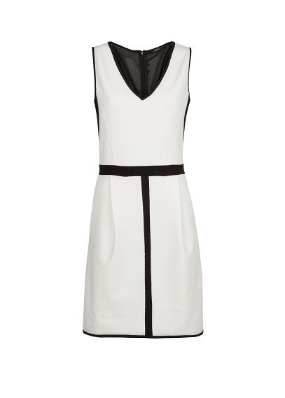 mango monochrome dress