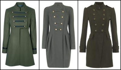 Women's Military Coats Fashion