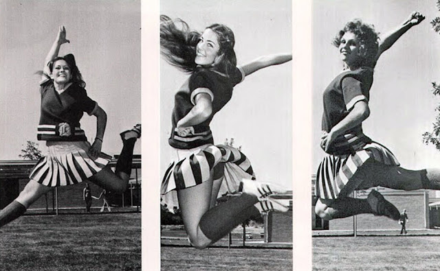 cheerleaders in the 70 s