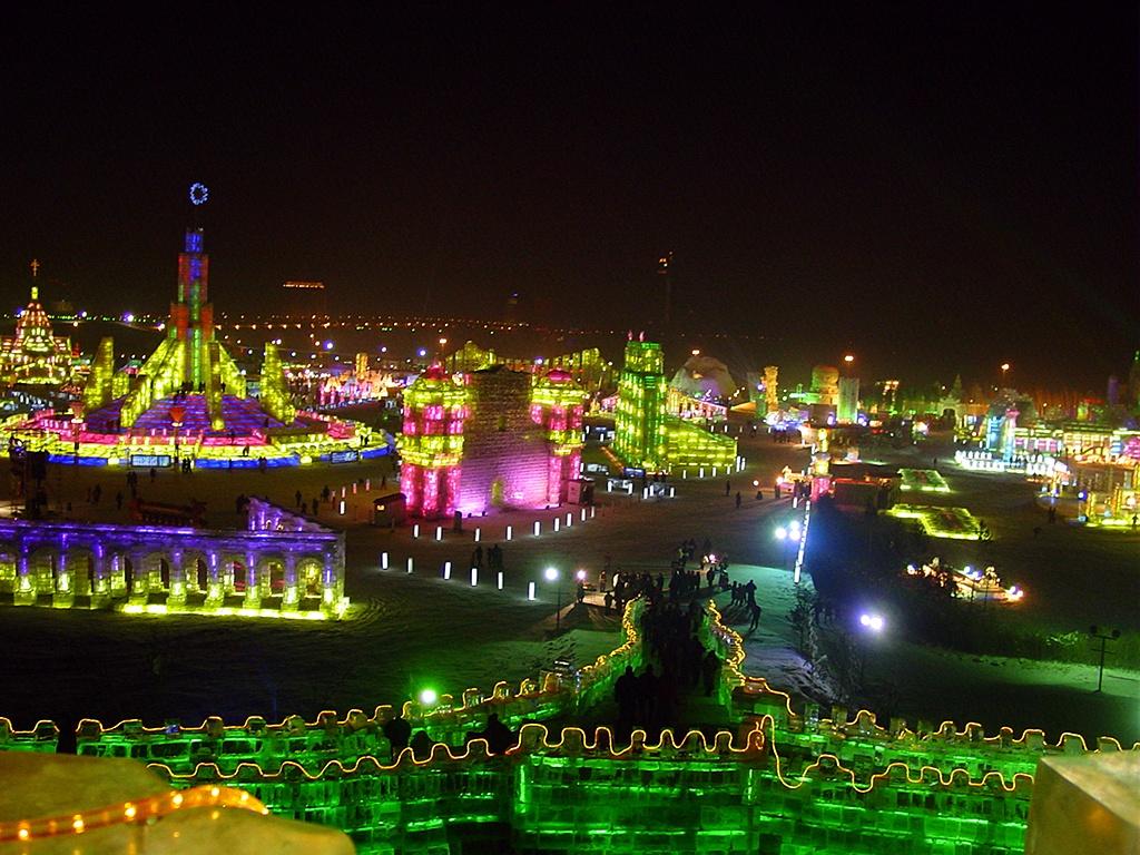 International Ice and Snow Festival in Harbin Holiday 4 U