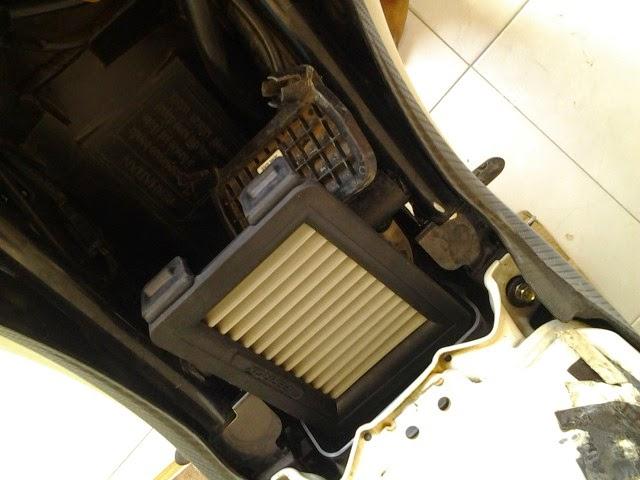 Memasang Filter Ferrox di CB150R