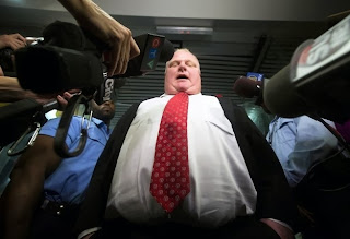 Rob Ford, Toronto, Mayor, crack scandal, reporters
