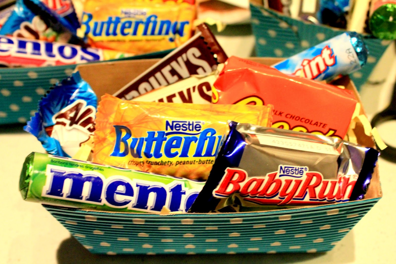 Sweet teacher appreciation gift basket idea