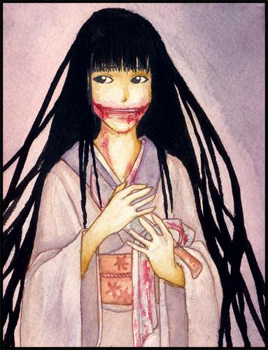 ... ノ: Legenda Kuchisake Onna, Hantu Wanita Bermulut Lebar Dari Jepang