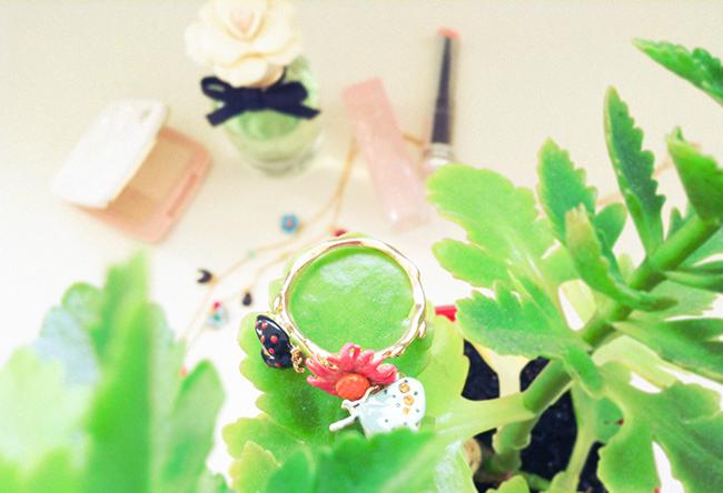 aimerose rasa virviciute dk fashion blog Les Nereides Champetre Jewelry
