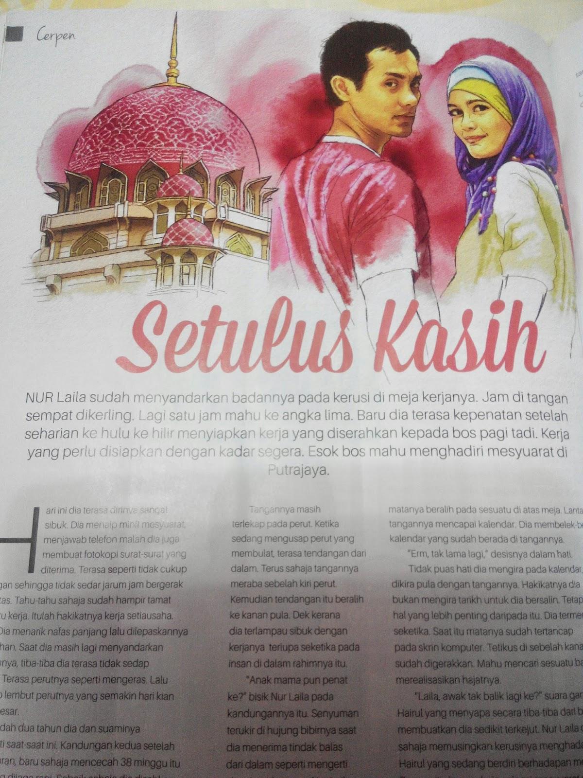 Cerpen Di Majalah Mingguan Wanita Bil 1633 (6-12 Mac 2015)