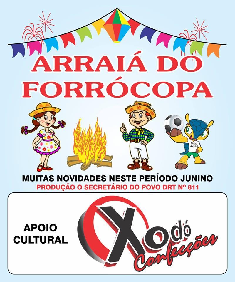 FORRO COPA  COMEÇAMO NESTE  DIA  02  NA FEIRA PUBLICA  DE  CAJAZEIRAS PB