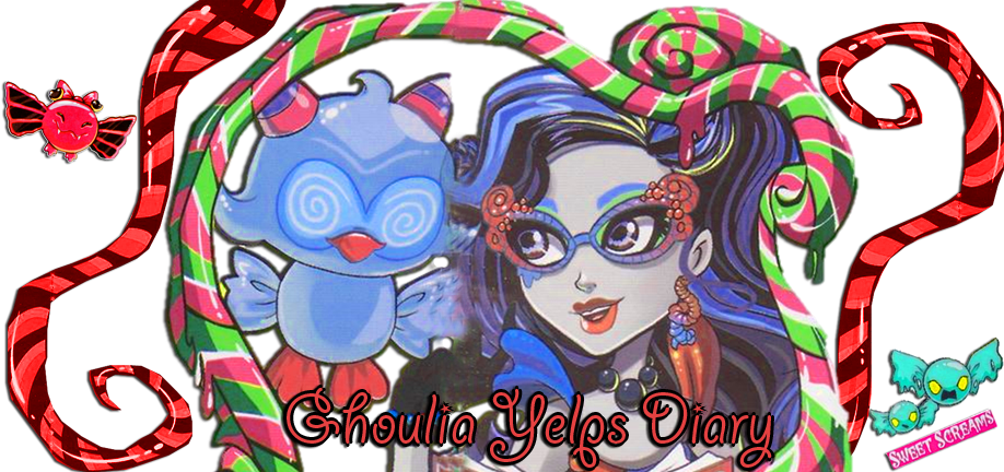 Ghoulia Yelps Diary