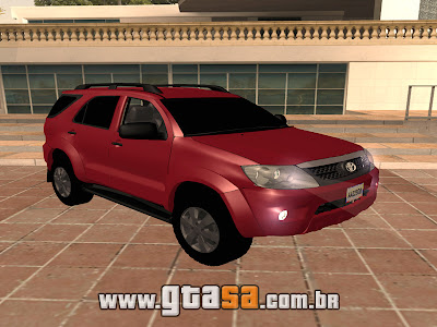 Toyota Hilux SW4 2013 para GTA San Andreas