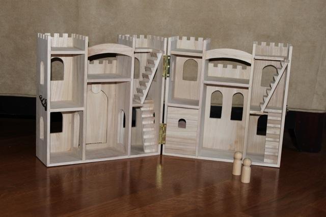 wooden castle plans