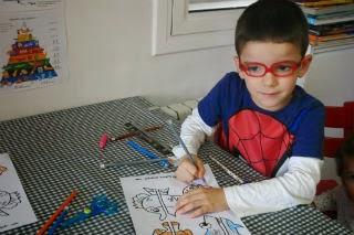 DIY Manualitat infantil pinces peixos