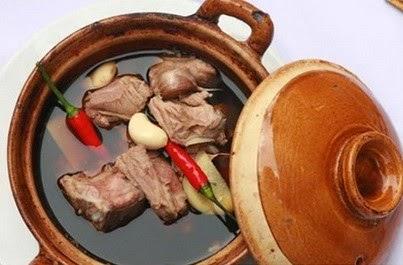 Cách làm món Óc lợn hầm thuốc bắc