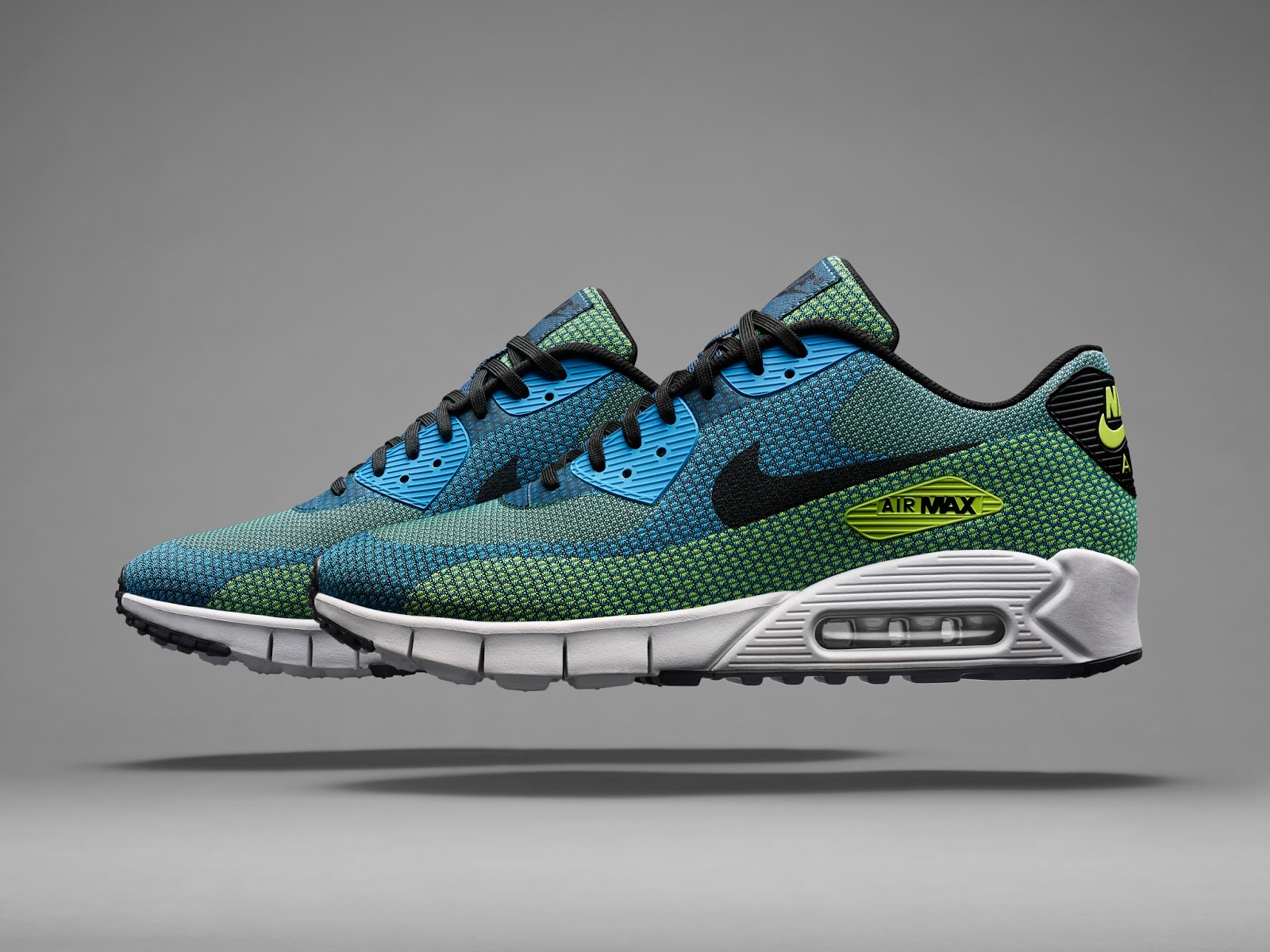 sneakers air max lunar 90 jacquard acid
