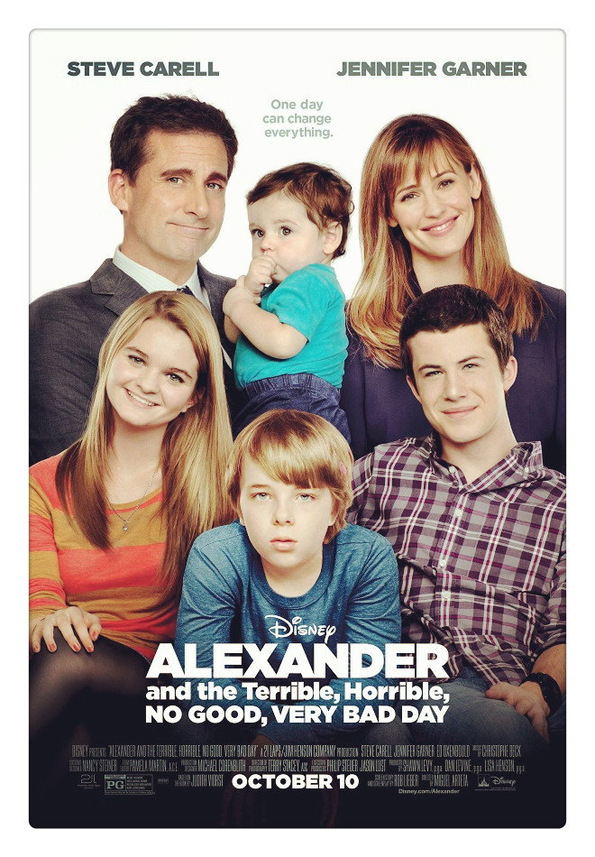 Sinopsis Film Alexander And The Terrible 2014 (Steve Carell, Jennifer Garner)